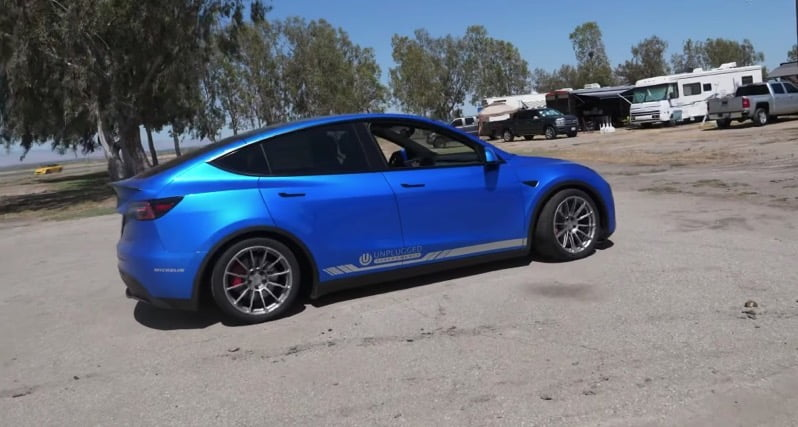 Model y buttonwillow record