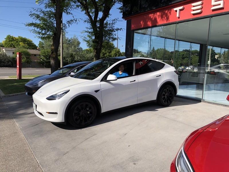 Tesla model y ontario