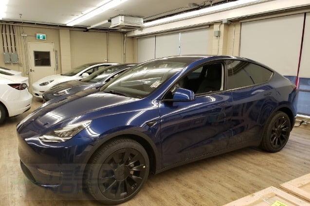 Tesla model y vancouver