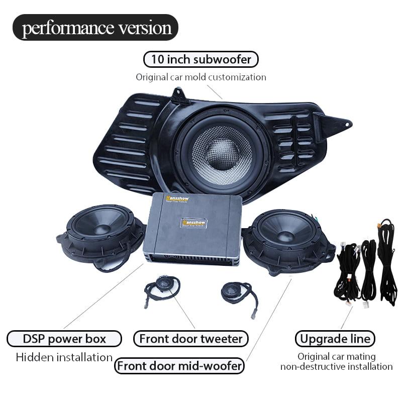 Hansshow model 3 premium audio upgrade