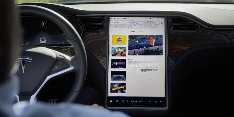 Tesla infotainment upgrade