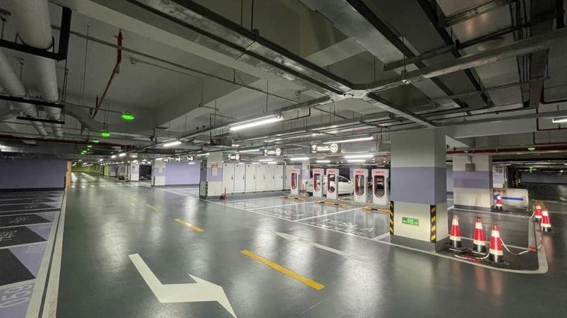 Jing an international center supercharger 2