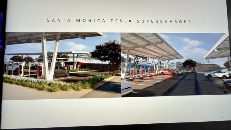 Santa monica supercharger site mockup