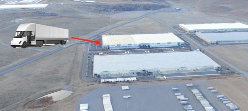 Tesla Semi gigafactory