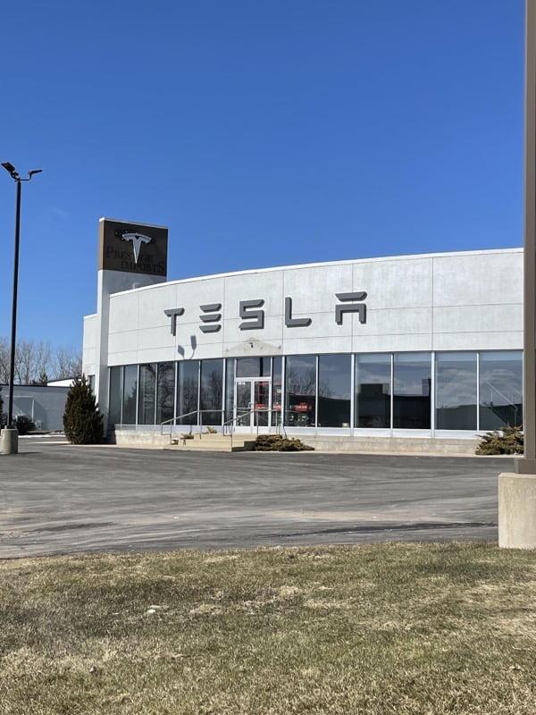 Tesla service center grand rapids MI