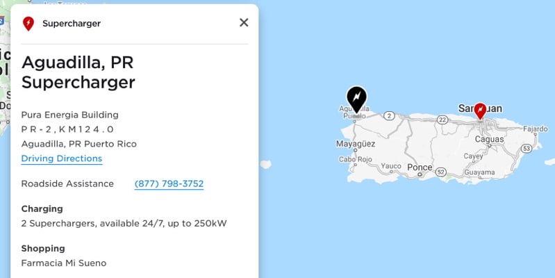 Tesla supercharger puerto rico