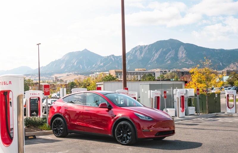 Tesla 25k chargers