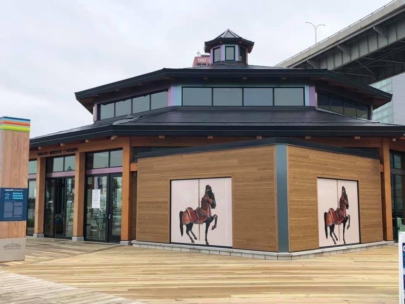 Buffalo heritage carousel