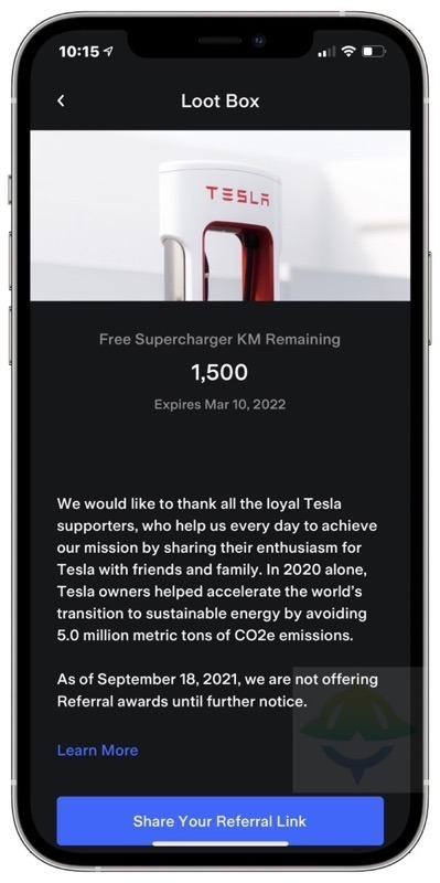 Tesla referral program ends